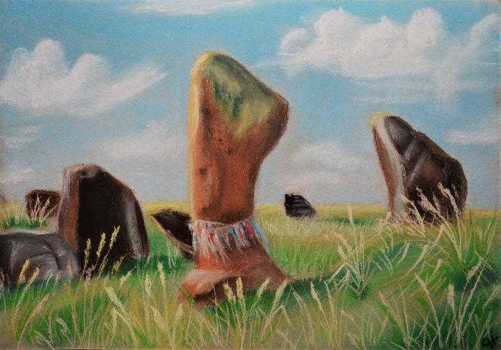 An ancient burial mound. - Nataliya Samoylova
