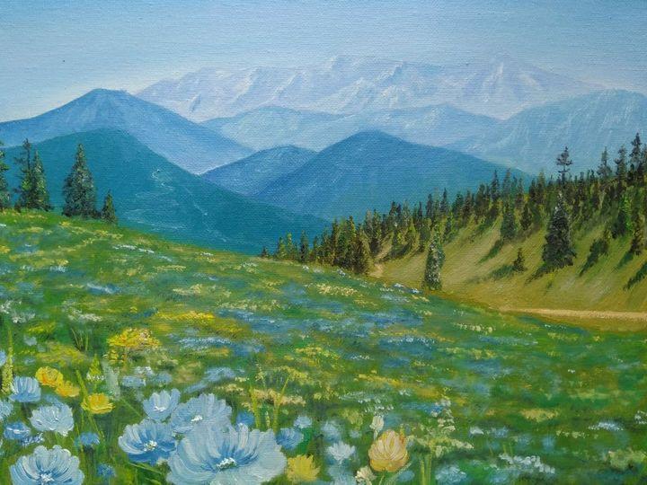 Summer landscape - Nataliya Samoylova