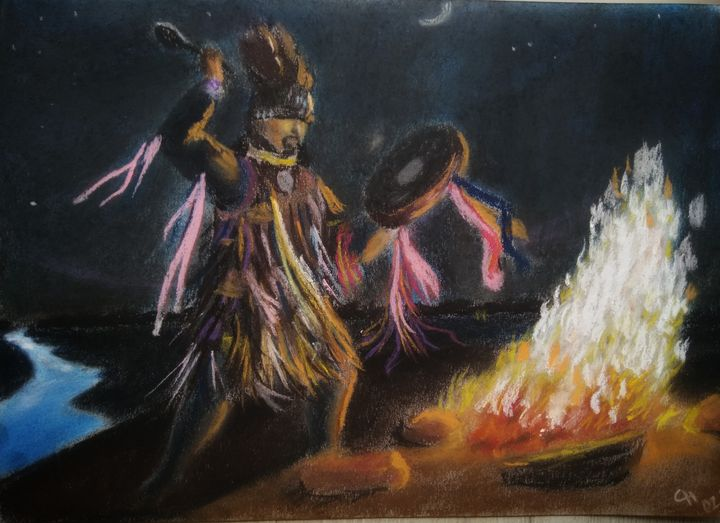 The Shaman's Ritual - Nataliya Samoylova