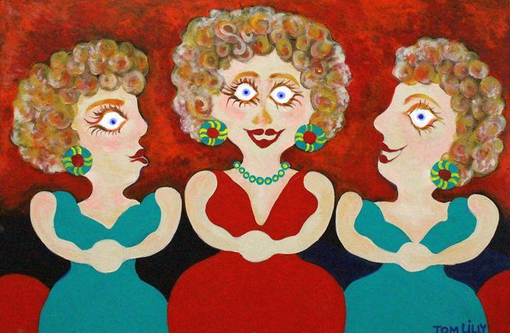 Three Sisters - artbytomlilly