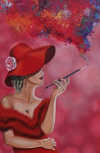 """""""The Lady In Red"""""""
