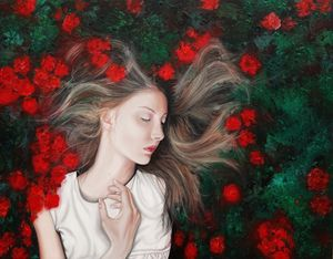 """""""Lost in her dreams"""""""