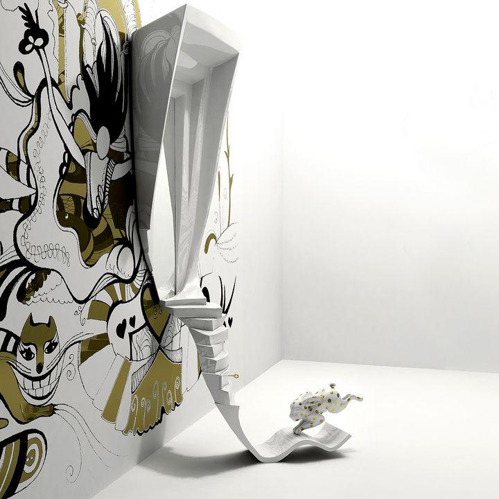 The Mirror «Through my looking glass - Anna Dyachuk