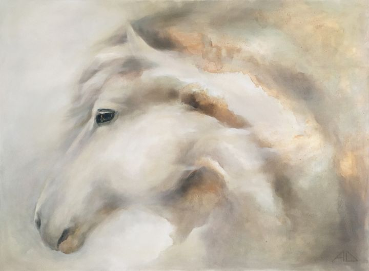 A Horse - Anna Dyachuk