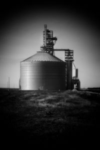 Grain Elevator, Cambridge, NE - John Strong Arts