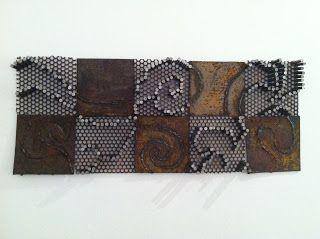 Metal mosaic - Langsam Art