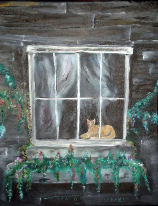 Kitty in the Window - TuSITALO - Thomas Usitalo