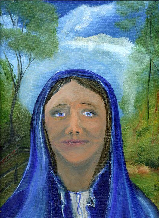 The Virgin Mary - TuSITALO - Thomas Usitalo