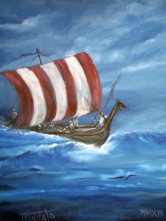 Viking Ship - TuSITALO - Thomas Usitalo
