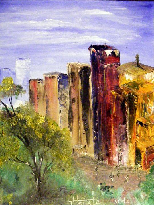 Cityscape - TuSITALO - Thomas Usitalo