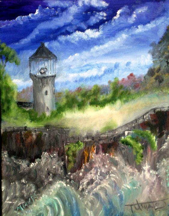 Lighthouse at Danger Point - TuSITALO - Thomas Usitalo