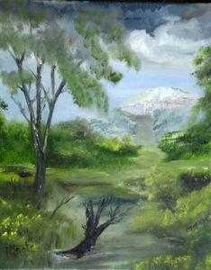Landscape in the Swamp