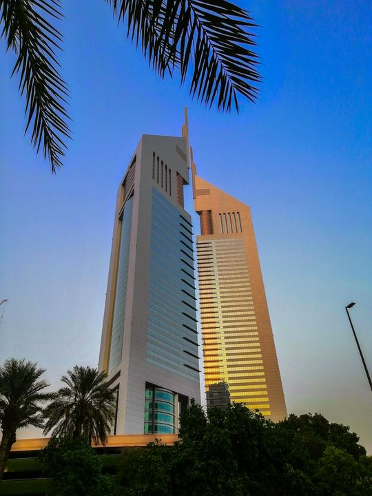 Dubai skyscrapers - Ashfay