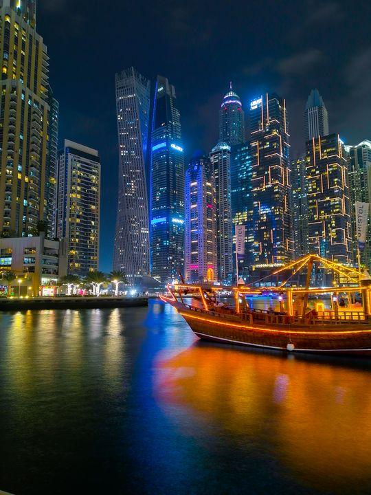 UAE skyscrapers - Ashfay