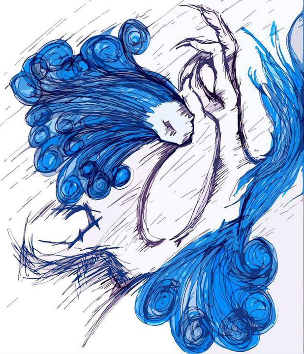 Blue - Wolf Crimson