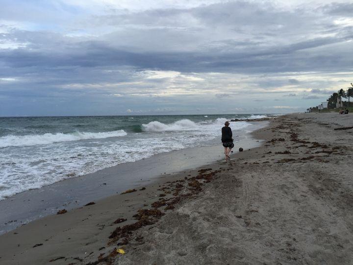 Woman on Beach - Linda Bell Brighton