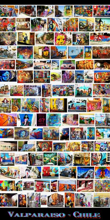 Graffti Art of Valparaiso Chile - Surrealpete