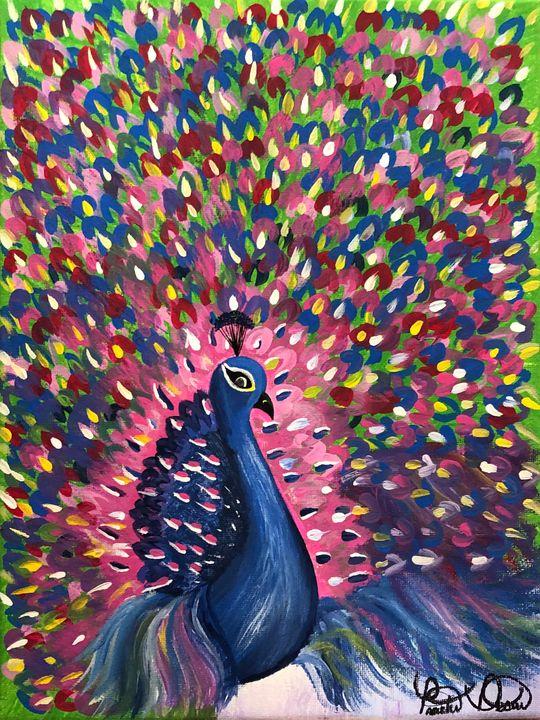 Dancing Peacock - Prachi Desai