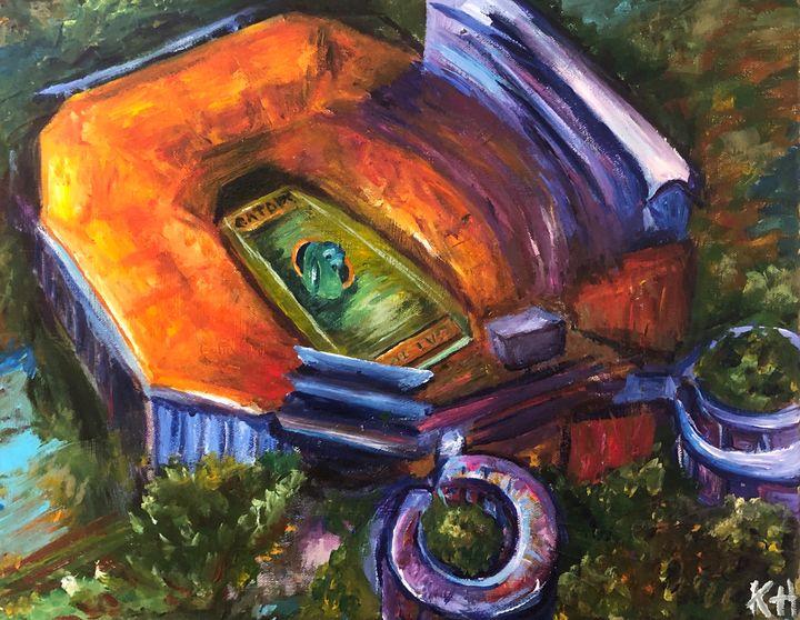 The Swamp - Kaitlin Hennessy Art