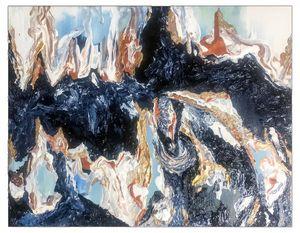 River Abstract Paitnting