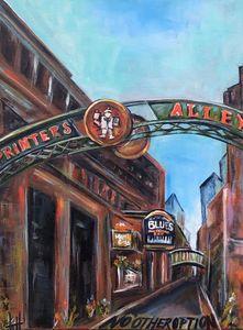 Nashville Printer's Alley