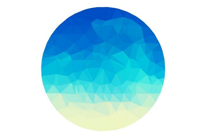 Blue Moon Kaleidoscope - CatEyes