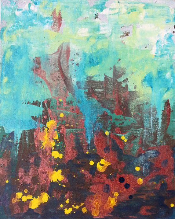 Untitled Abstract 2 - Emily Hayes