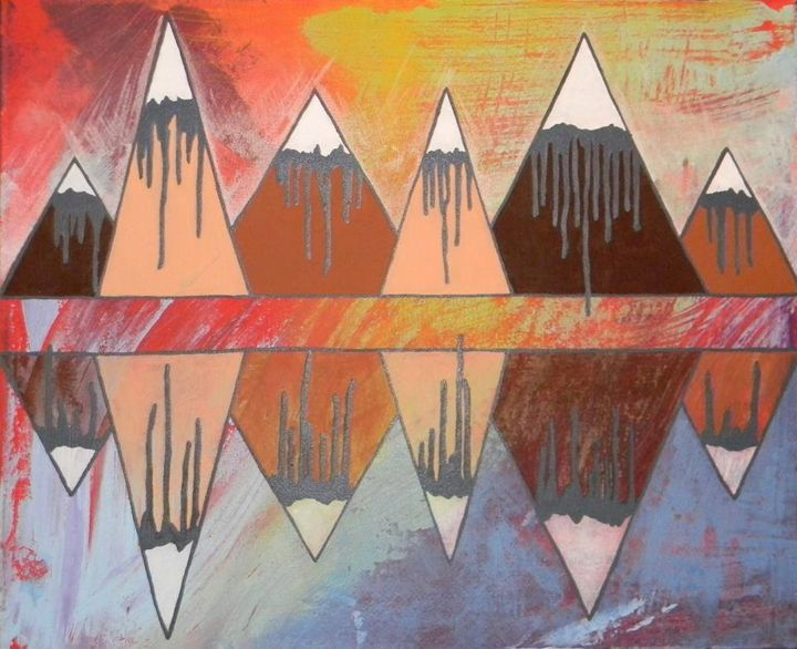Triangle Mountains - Emily Hayes