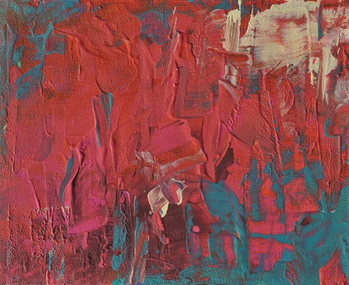 Untitled Abstract 9 - Emily Hayes