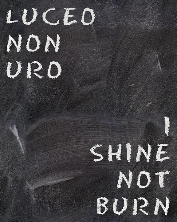 I shine not burn - hedehede