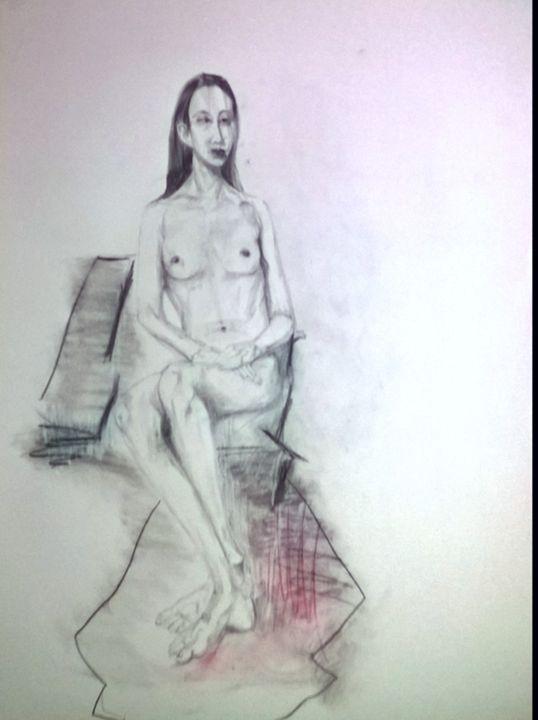 Lady in Waiting - Juanita X. Campos