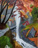 Original Beauty of waterfall