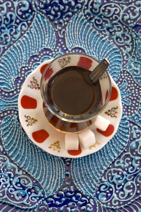 A glass of Turkish Tea. Istanbul. Tu - Steve Outram