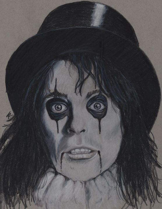 Alice Cooper - Paws & Portraits by Theresa
