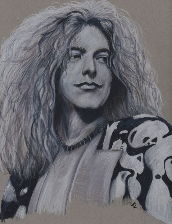 Robert Plant - Paws & Portraits by Theresa