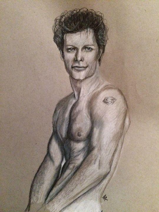 Jon Bon Jovi - Paws & Portraits by Theresa