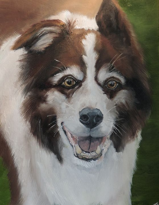 """""""Rudy"""" - Paws & Portraits by Theresa"""