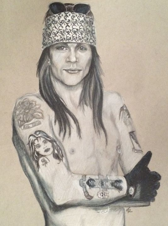 Axl - Paws & Portraits by Theresa