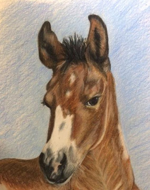 """""""Chestnut"""" - Paws & Portraits by Theresa"""
