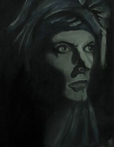"""Bowie in """"Blue Jean"""""""