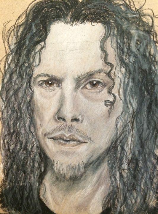 Kirk Hammett - Paws & Portraits by Theresa