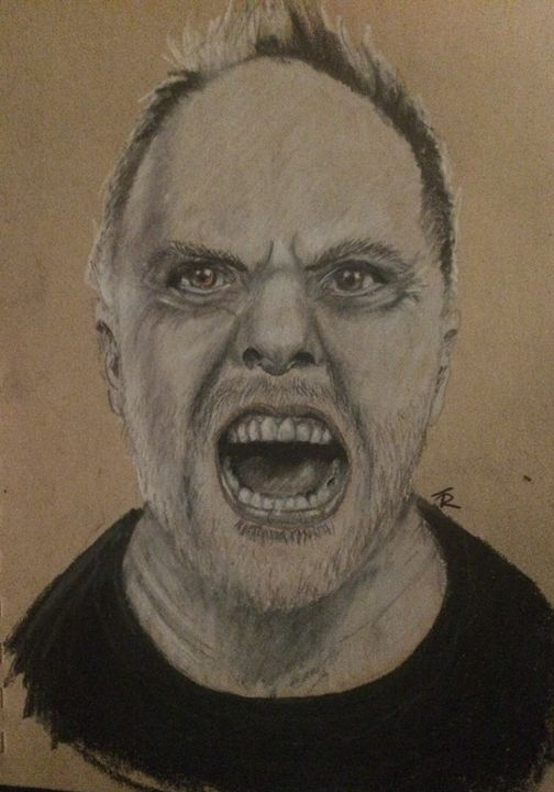 Lars Ulrich - Paws & Portraits by Theresa