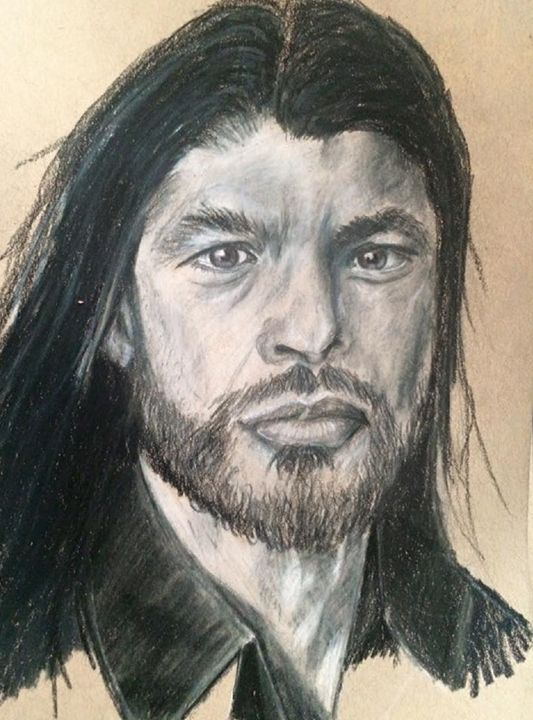 Robert Trujillo - Paws & Portraits by Theresa