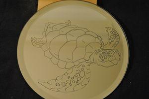 Sea Turtle Mirror