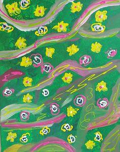 Spring Meadow - Galya Velkova