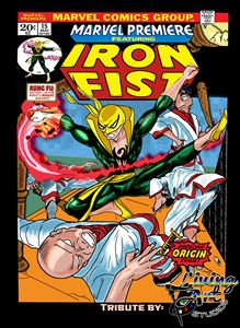 Iron Fist Origin Cover: Tribute