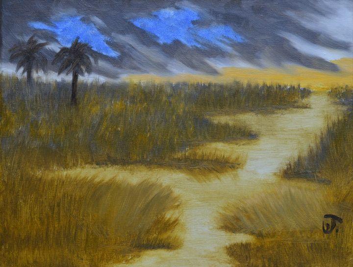 Wetlands At Dusk - Thompson Gallery