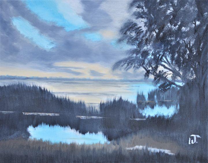 Lake Apopka November Sunset - Thompson Gallery