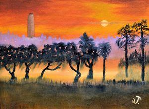 Sunset Over Bok Tower Gardens 3