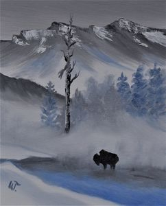Steam at Yellowstone